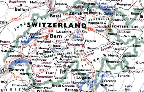Transportation map of switzerland gumiabroncs Gallery